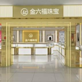 现代珠宝店3D模型【ID:935858830】