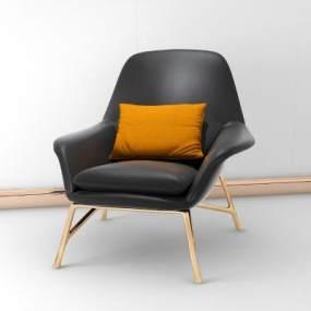现代休闲椅3D模型【ID:733252019】