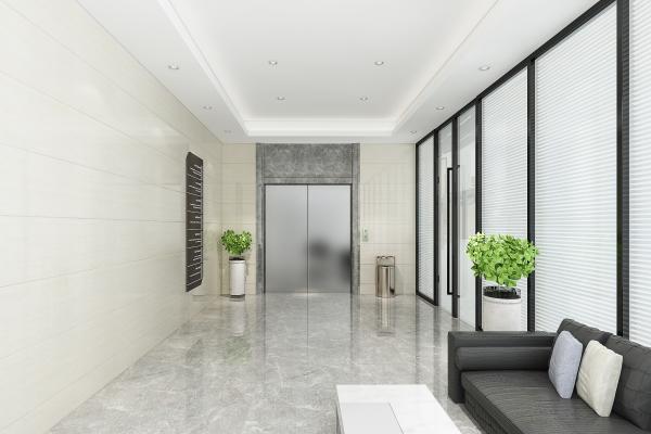 現代公司電梯間3D模型【ID:951025531】