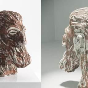 北欧艺术雕像3D模型【ID:335771139】