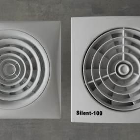 现代换气扇3D模型【ID:233572651】