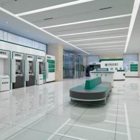 现代中国农业银行3D模型【ID:945390758】