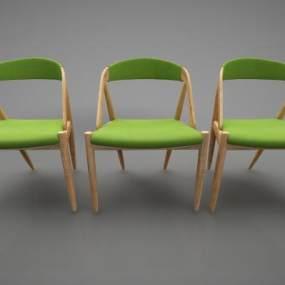 現代風格椅子3D模型【ID:746947076】