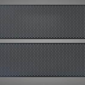 现代风格冲孔板3D模型【ID:244529766】