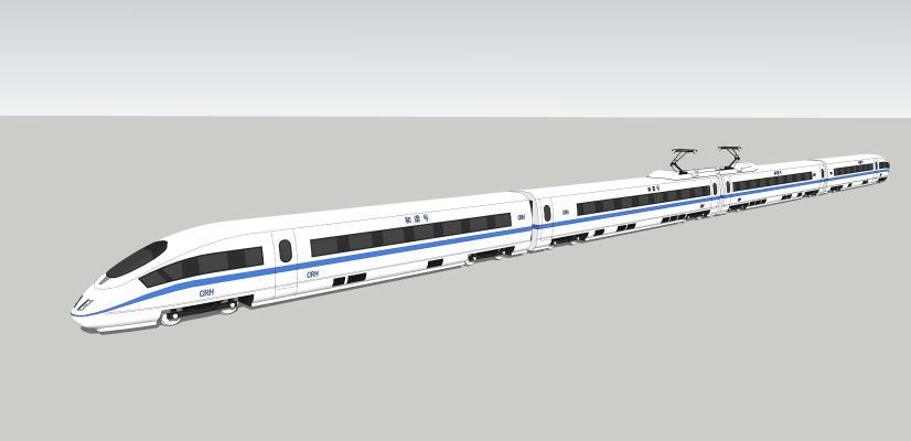 中國高鐵SU模型【ID:544046798】