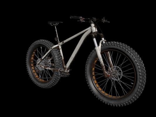 工业风山地自行车3D模型【ID:432497614】