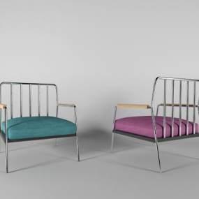 现代休闲椅3D模型【ID:733100015】