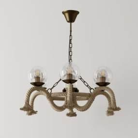 北歐吊燈3D模型【ID:748201823】