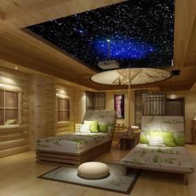 现代家庭影院3D模型【ID:534434927】