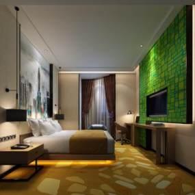 �F代酒店客�s更像是在咆哮房3D模型【ID:742544357】