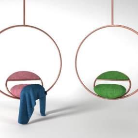 现代吊椅3D模型【ID:734539712】