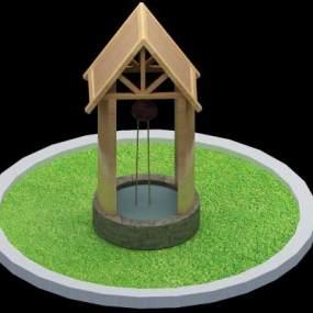 水井 3D模型【ID:941299960】