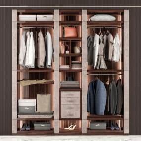 现代衣柜3D模型【ID:143265444】