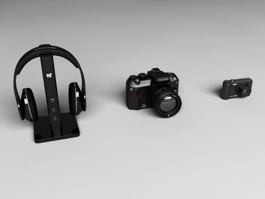 歐式簡約數碼產品3D模型【ID:234845720】