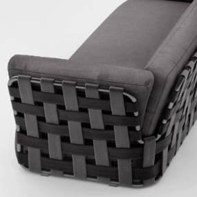 后现代双人沙发3D模型【ID:633198530】