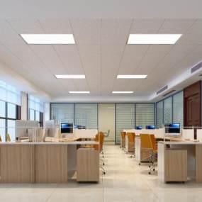 现代办公室3D模型【ID:934741017】