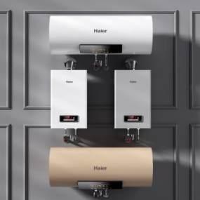 现代热水器燃气热水器3D模型【ID:630494496】