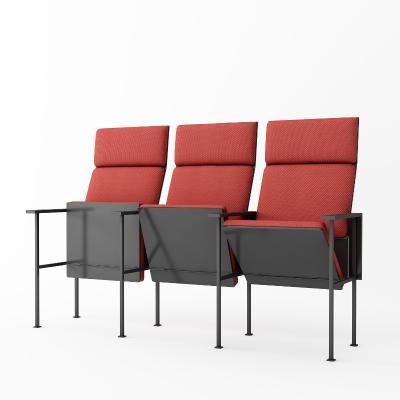 现代简约礼堂椅3D模型【ID:735401723】