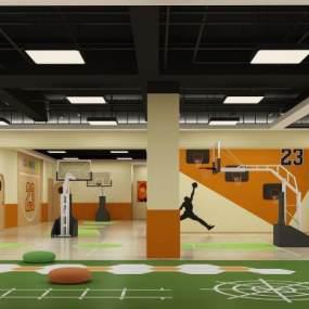 現代兒童運動館3D模型【ID:651183957】