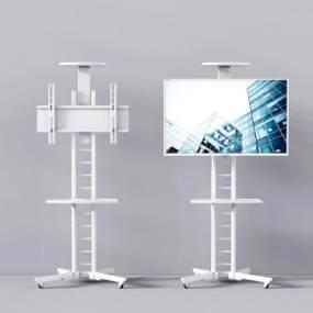 现代液晶电视机架3D模型【ID:231324634】
