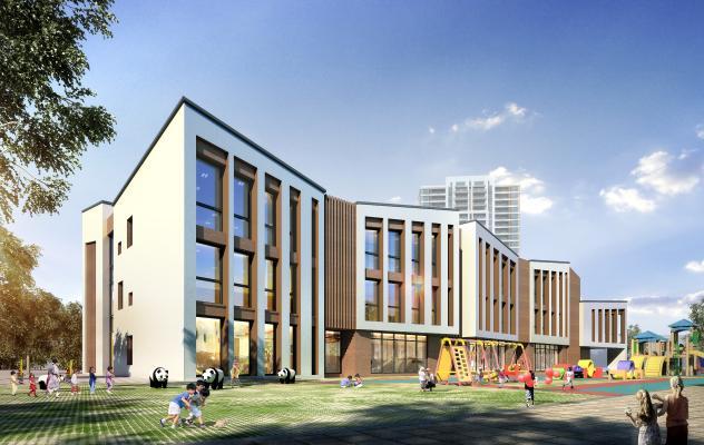 新中式幼儿园