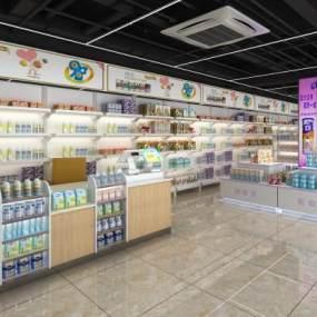 现代母婴店3D模型【ID:935858854】