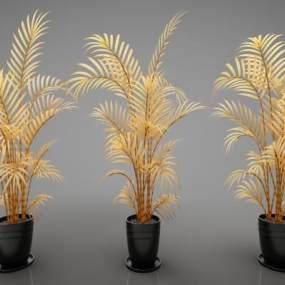 現代風格植物3D模型【ID:247532890】