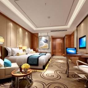 现代酒店3D模型【ID:744066358】