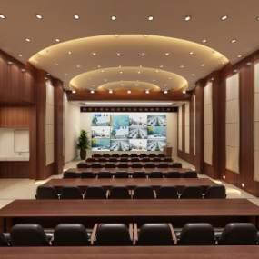 現代會議廳3D模型【ID:946535109】