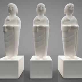 現代風格雕塑3D模型【ID:346976159】