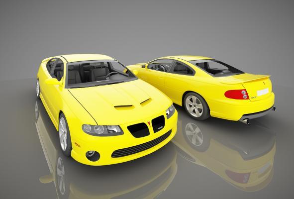 现代风格小汽车3D模型【ID:441801711】