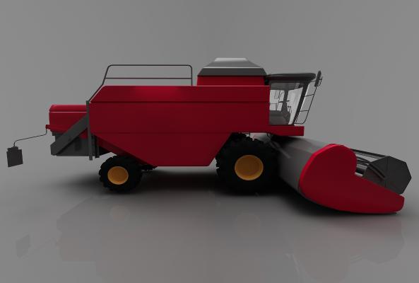 现代风格推土车3D模型【ID:443580774】