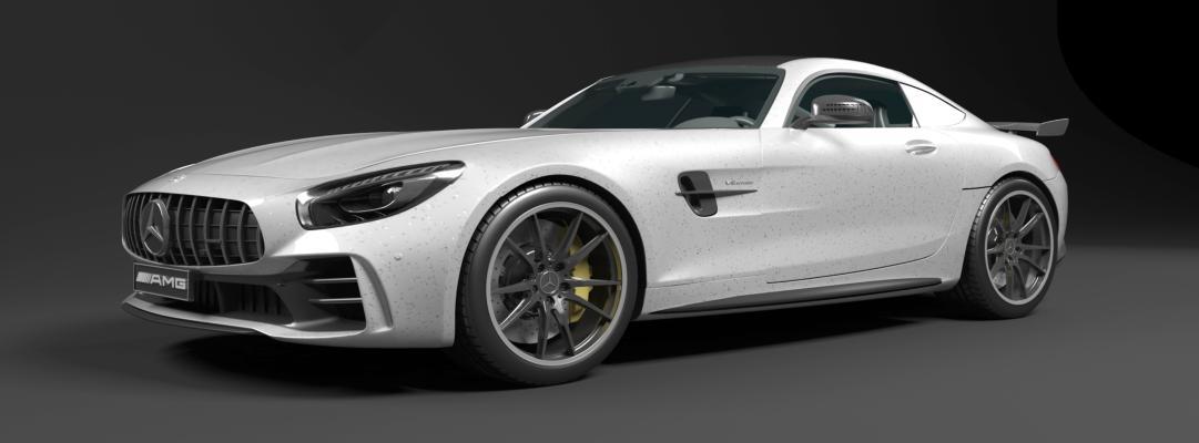 奔驰汽车3D模型【ID:443806798】