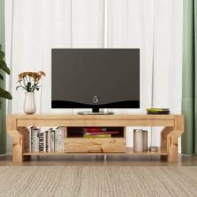 现代木质简约电视柜饰品365彩票【ID:935630920】