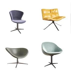 現代簡約沙發椅組合3D模型【ID:650562470】