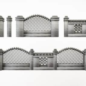 新中式园林围墙构件组合365彩票【ID:335667403】