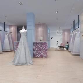 婚纱店3D模型【ID:930545947】