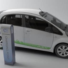 现代新能源汽车3D模型【ID:435599752】