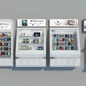 手机配件柜 3D模型【ID:940921996】