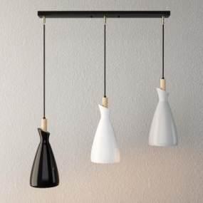 現代簡約吊燈3D模型【ID:748847849】