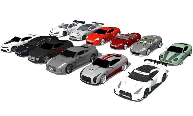 現代汽車SU模型【ID:452119947】