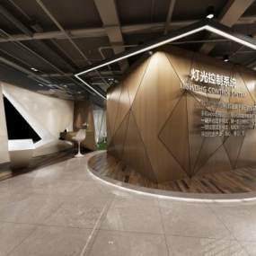 现代展示厅3D模型【ID:949238749】