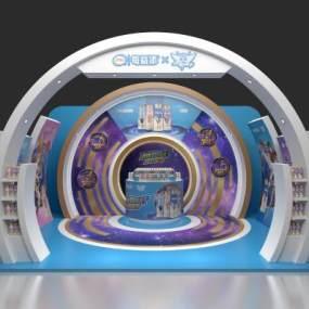 现代会展3D模型【ID:947346955】