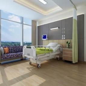 现代VIP病房3D模型【ID:944417758】