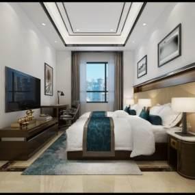 现代休息室3D模型【ID:932747335】