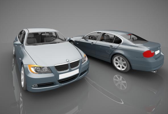 现代风格小汽车3D模型【ID:441831782】