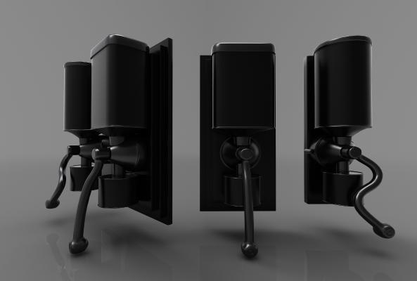 現代風格工業設備3D模型【ID:443444395】