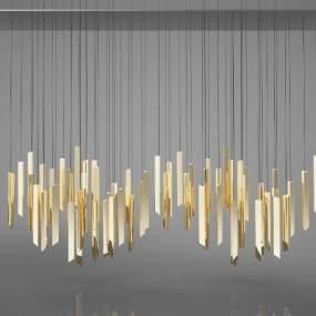 新中式風格燈具3D模型【ID:743950880】