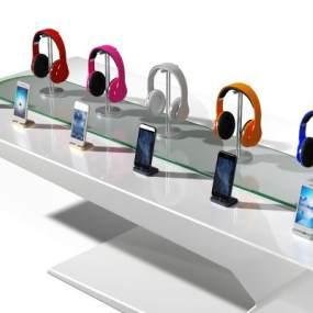 现代耳机3D模型【ID:232530736】