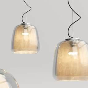 现代玻璃吊灯3D模型【ID:734825842】